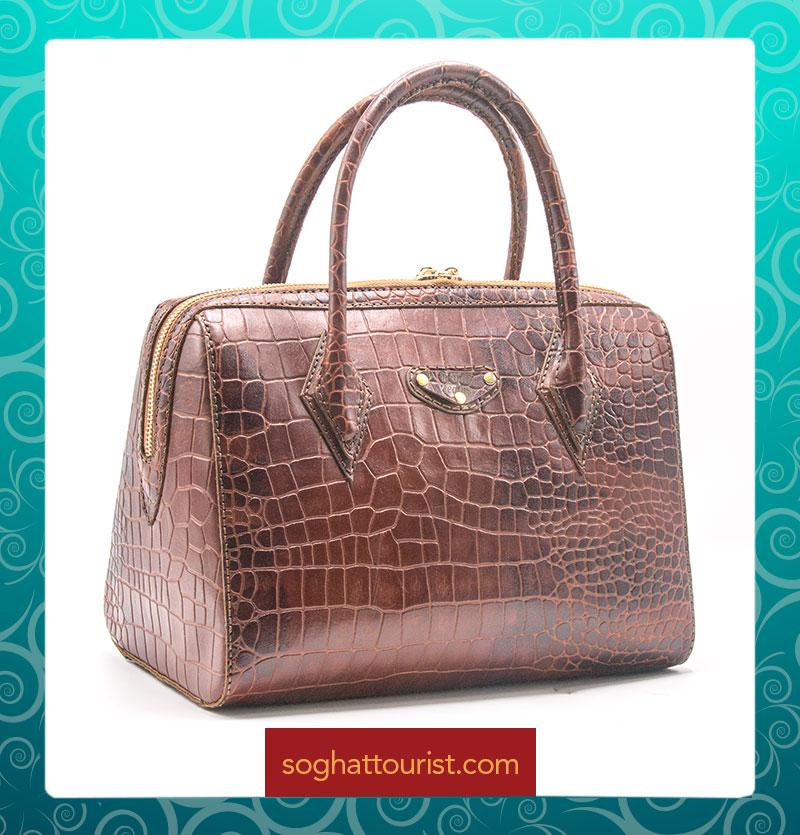 کیف دستی زنانه طرح صندوقی