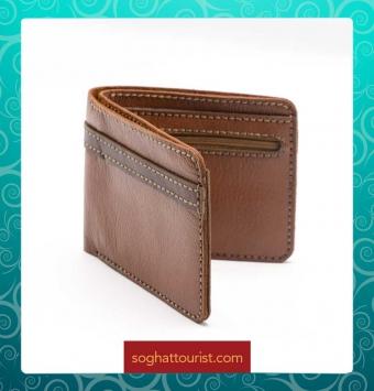 کیف جیبی چرم بزی