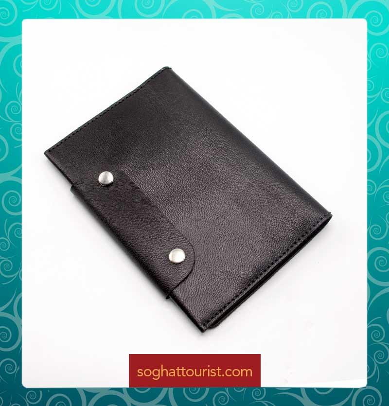 کیف موبایلی چرم بزی