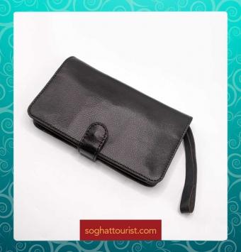 کیف مدارک کوچک چرم بزی