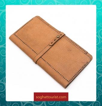 کیف موبایلی چرم گاوی چیتا