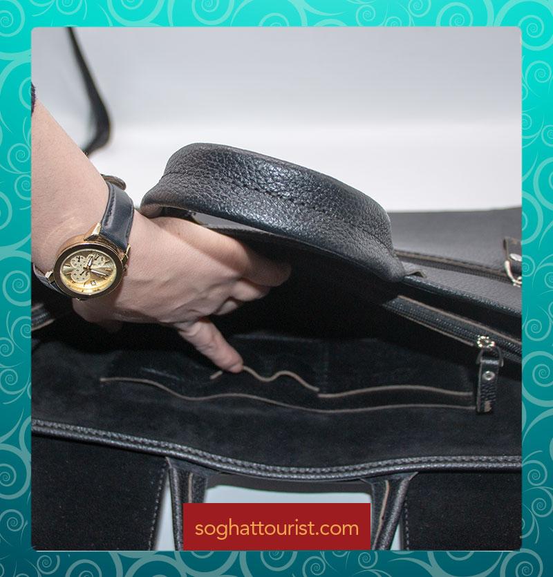 مشخصات داخلی کیف